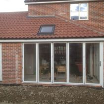 Bi-fold doors fitted